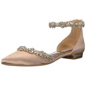 Badgley Mischka Women's Vivien Ballet Flat